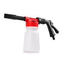 Wholesale Car Washing Foam Gun - Wholesale-Multifunctional Car Washing Cleaning Foam Gun 900ML Car Washer Compatible Snow Foam Gun Sprayer For Car Motorcycle Washer