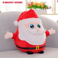 Wholesale Moose Toys - Santa Claus Snow Man Moose plush toys Christmas Decorations Xmas Tree Gadgets Ornaments Doll Christmas Gift