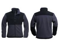 Wholesale Mens New Black Winter Jackets - 2017 High quality brand new Fleece mens Fleece Jacket , Winter Outdoor Sports Warm Fleece Sweatshirt Outerwear Black White S-XXL