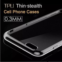 Ultra-Thin Clear transparent TPU Phone Case Weiche Gel Crystal Back Cover für iphone X 8 6 6S 7 plus Samsung Galaxy S8 S7 Edge 8