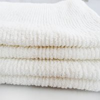 Wholesale White Kitchen Towels Wholesale - Cotton Large Hand Towels (white, 39*45 CM) - Multipurpose Use for bath towel, kitchen towel, Gym and Spa