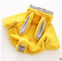 Wholesale Girls Hooded Capes - Children fur shawl Girls princess Faux fur Poncho kids Bunny ear cape child cloar outwear Autumn Winter female children cloak G1013