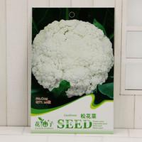 Wholesale cauliflower seeds resale online - Organic Vegetables Seeds Cauliflower Songhua Dish Original Pack Seeds Bag