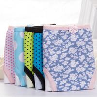 Wholesale Menstrual Leaks - Special offer Factory Menstrual Sanitary Leak proof cotton Seamless Panty Underwear Women 3XL Size Women's Briefs Panties