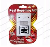 Wholesale Wholesale Ant Killer - 2017 new retail pack Electronic Riddex Pest Control Pest Repelling Aid Pest Killer Ant Repellent Plus MYY