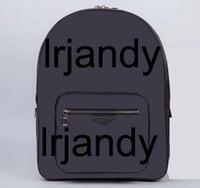 Wholesale Mens Backpack Brown Leather - Best Mens Backpacks Style Designer Genuine Leather Travel Backpacks Hiking Large Capacity Successful Men Double Shoulder Bag