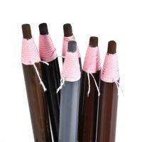 kalıcı makyaj kaş kalemi toptan satış-Su geçirmez Microblading Kalıcı Makyaj Kaş Dudak Tasarımı Konumlandırma Kalem