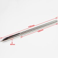 Wholesale penis sex toys steel rod for sale - Group buy Solid Urethral sound toys Stainless Steel Urethral Plug Male Penis Plug Urethral Dilator Masturbation Rods Gay Metal Plug Adult Sex Products