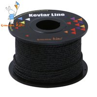 Wholesale Braided Kevlar - 100ft 30m 500lb Kite Flying Line Black Color Kevlar Fishing Line Braided Kevlar Line String For Outdoor Camping Tactical