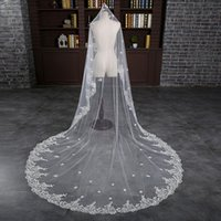 2017 Princess Kate Bridal Veils Cheap Lace Wedding Veil In Stock Free Shipping Accessories White Ivory Long Length Cust