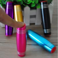 Wholesale Rod Materials - Unlocking Rods Mokuru Alloy Material Decompression Bar Toy Fidget Stick Desktop Puzzle Tilt Toy free shipping