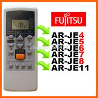 Wholesale Fujitsu Split Air Conditioner - Wholesale- (4 pieces lot) FUJITSU Split And Portable Air Conditioner Remote Control AR-JE4 AR-JE5 AR-JE6 AR-JE7 AR-JE8 AR-JE11 AR-PV1