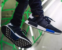 2017 Cheap Wholesale 2017 New NMD R1 Runner PK Primeknit Men's Women's Athletic Running sneaker Shoes Running Shoe Brand Boost With Box