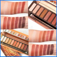 Wholesale 2017 new product NK HEAT color eye shadow pan brown red warm orange color makeup disk
