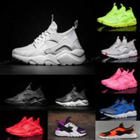 Wholesale Spring Shoes For Women - 2017 New Design Air Huarache 4 IV Running Shoes For Women & Men, Lightweight Huaraches Sneakers Athletic Sports Outdoor Huarache Shoes