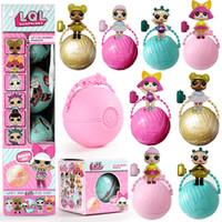Wholesale Toy Egg Cm - 7.0 cm LOL   lql Egg-surprise doll Funny egg ball doll, toys developing novelty baby unpacking LOL Dolls girl