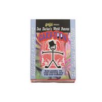 predicción magia al por mayor-Dibujos animados Cardtoon Deck Naipes Toon sprite truco de magia para mago profesional Animación Mental Predicción ilusión 81048