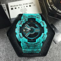 Wholesale G Shock For Men - Luxury Brand g sport Watches LED shock High Quality Quartz Wristwatches For man Fashion Exquisite mens watches