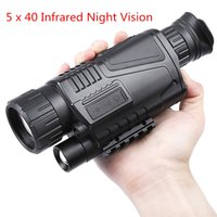 Wholesale High Magnification Monocular - 5 x 40 Infrared Digital Night Vision Telescope High Magnification with Video Output Function for Hunting Monocular 200m Veiw