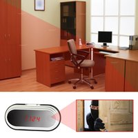 1080PHD WIFI Беспроводная скрытая камера Часы Motion Detection Security DVR Video Recorder 160 ° Просмотр выхода HDMI для домашней камеры безопасности