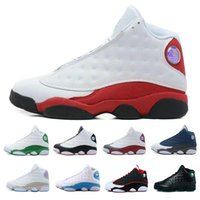 Wholesale Cheap Leather Tops For Woman - Top Quality Wholesale Cheap NEW Retro 13 13s mens basketball shoes sneakers women Sports trainers running shoes for men designer Size 5.5-13