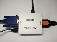 VGA a HDMI HDMI TO VGA Switch Box PS2 Simulazione PC a casse di convertitore di interfaccia HD con audio Adattatore per displayer del proiettore
