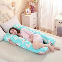 Wholesale Pregnant Pillows - Wholesale- 130*80CM pregnancy Comfortable U shape Maternity pillows Body cartoon pregnancy pillow Women pregnant Side Sleepers cushion