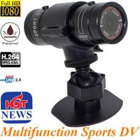 Full HD 1080P Mini Sport DV Waterproof Sport Caméra Bike Motorcycles Casque Outdoor Action DVR Video Recorder