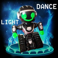 Wholesale Educational Toys For Children Robots - 2017 New Arrival music Robot Toys for chidren with light Early childhood educational For Children Gifts Electronical Dancing Space Robot