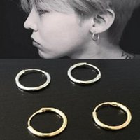 Wholesale Earring Man Ring - New fashion jewelry zinc alloy circle earrings ear rings couple of men and women free shipping