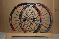 Wholesale Cheapest Carbon Road Bike Wheels - cheapest carbon bike wheelset, 38mm clincher,700C road bike wheels,carbon wheel with full carbon fiber
