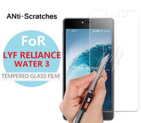 Wholesale cell phone wei online – Tempered Glass Film For LYF Water LYF Wind India Hot Sale Cell Phone Temper Glass Screen Protector