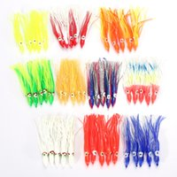 Wholesale trulinoya fishing lures for sale - 10PCS CM Fishing Squid Lures Soft Trulinoya Fishing Jigging Lure Spinnerbait Sea Fishing Squid Jigs Artificial Soft Bait