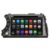 Wholesale Dvd Actyon - Fit for SsangYong Actyon sports 2005-2013 Android 5.1.1 OS 1024*600 HD car dvd player gps radio 3G wifi bluetooth dvr OBD2 FREE MAP CAMERA