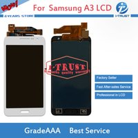 Wholesale s3 repair - OLED For Samsung Galaxy A3 2015 A300 A3000F SM-A300F LCD with Good Quality For Repalcement or Repair Touch Digitizer With Free Shipping