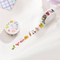 Wholesale Diy Handmade Photo Album - 1x Girl small thing 2cmX10m washi tape photo album Scrapbook Adhesive decorative DIY Handmade Gift Card Scrapbooking Arts crafts-2016