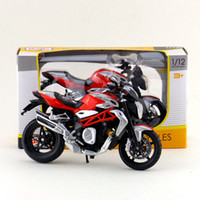 Wholesale Maisto 12 - Free Shipping Maisto 1:12 Motorcycle MV AGUSTA Brutale 1090 RR Diecast Toy For Collection Exquisite Educational Gift Children