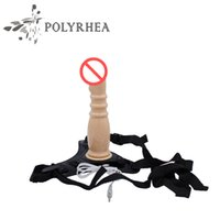 Wholesale Leather Goods Adult - Sex Toys Dual Motors Vibrator Wear G Points Simulation Imitation Leather Pants Adult Sex Supplies Speed Control Intimate Goods Women Orgasm