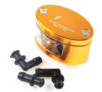 Wholesale Motorcycle Performance - wholesale Italy Rzm motorcycle performance brake oil cup universal brake pump three-dimensional transparent CNC hot selling