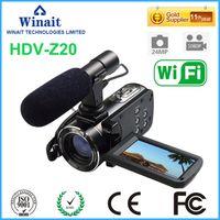 "Wholesale Digital Vedio Cameras - Wholesale- At a glance !Professional Digital Vedio Camera HDV-Z20 WIFI Remote Control 3.0""Touch Screen 64GB Memory Camera"