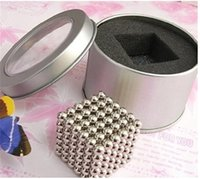 Wholesale 5mm Bucky Ball - 216pcs 5mm 3mm magnetic ball Magic cubes buckyballs Neocube neodymium Toy Neo Cubes Puzzle Cube Toy Sphere Magnet Magnetic Bucky Balls b1334