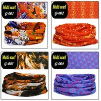 Foulard en plein air Magic bandeau 150 couleurs Turban Multifonctionnel Cyclisme sans couture Bandana Magic Scarfs Femmes Hommes Chaud Cheveux bande Dhgate Écharpe ZZ