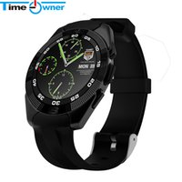 Orologio intelligente da polso Bluetooth 4.0 Smartwatch TimeOwner Utral Full Circular MTK2502 Smartwatch per Android IOS Orologio Android
