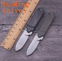 Wholesale Cheap Survival Tools - super cheap S35VN steel folding knife titanium handle Mini camping hunting survival knife key chains tactical knives EDC Tool