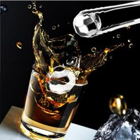 Wholesale Stainless Steel Whiskey Stones - Stainless Steel Diamond Models Stones Magic Ice Cubes For Frozen Ice Whiskey Ice Wine Stone OOA1966