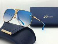 Wholesale DECADE TWO limited edition luxury pilots fine metal new designers classic fashion lady brand sunglasses original packaging UV400