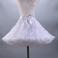 Wholesale Dancing Dress Petticoat - Newest Pure Lovely Tutu Skirts 2017 Hot Sale Bridal Petticoat Wedding Accessories Christmas Dance Skirt Dress In Stock Cheap
