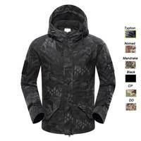Wholesale G8 Windbreaker Jacket - Outdoor Clothing Woodland Hunting Shooting Coat Tactical Combat Clothing Camouflage Windbreaker G8 Outdoor Hoody Jacket SO05-213