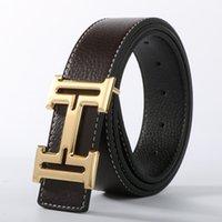 Wholesale Luxury Belts Brands - 2016 new Brand ceinture mens Luxury belt belts for Women genuine leather Belts for men designer belts men high quality h buckle waistband