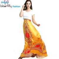 Wholesale Top Robes For Women - African Dashiki Set For Women Traditional African Tops+Skirt 2 Piece Set Bazin Riche Clothing Robe Africaine Clothes Big Size
